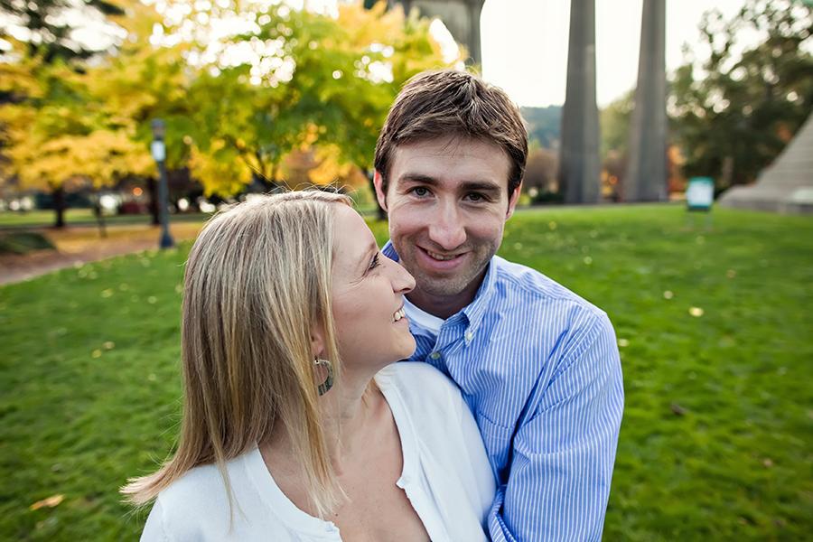 Portland engagement photography